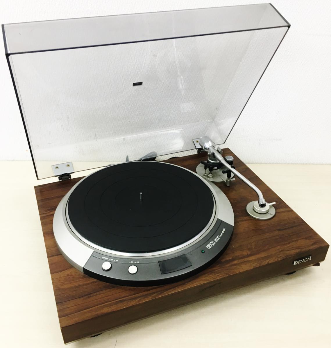 049 DENON デノン ターンテーブル レコードプレーヤー DP-50L