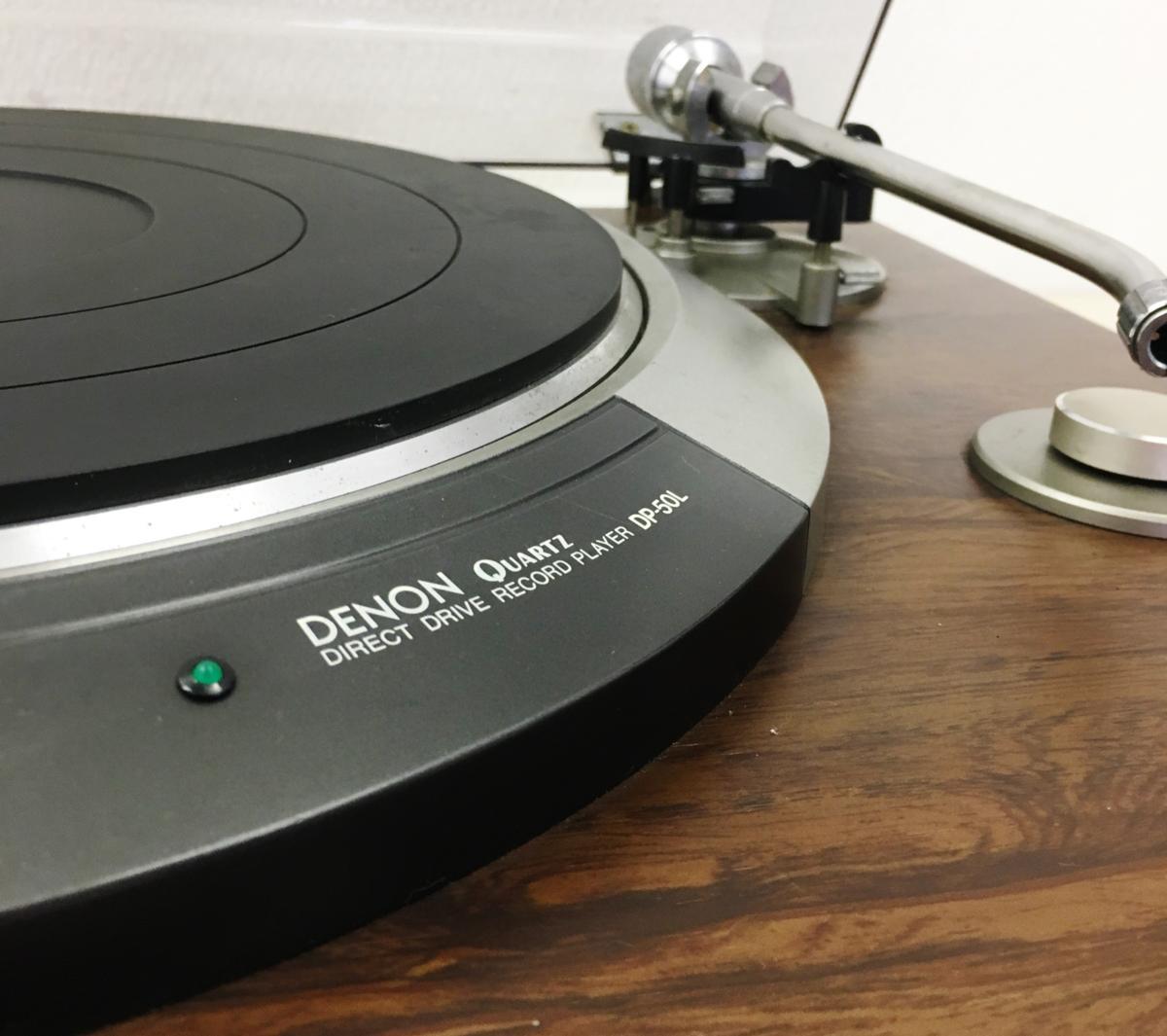 049 DENON デノン ターンテーブル レコードプレーヤー DP-50L_画像3
