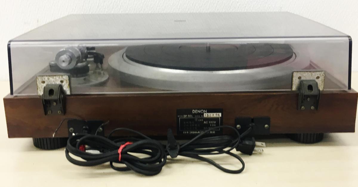 049 DENON デノン ターンテーブル レコードプレーヤー DP-50L_画像5