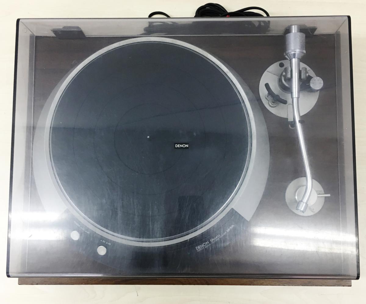 049 DENON デノン ターンテーブル レコードプレーヤー DP-50L_画像4