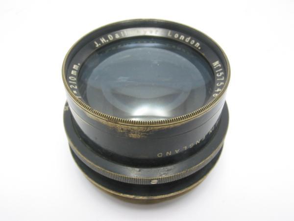 ★ハロ-カメラ★5797 J.H.Dallmeyar LONDON Speedy(210mm F4.5)英国製大判用レンズ 骨董品 難有り ジャンク