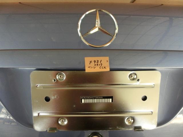 ★CLK200 トランク カラー935 平成13年 GF-208344 ベンツ W208 CLK240 CLK320 k_画像5