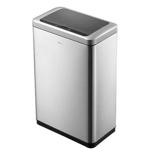 ゴミ箱 20L+20L センサー ふた付き 角型 ステンレス おしゃれ かっこいい 分別 ごみ箱 ダストボックス 1年保証 送料無料 EK9233-20L-20L