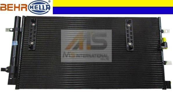 【M's】アウディ A4 S4 A5 S5 Q5 BEHR_HELLA製 エアコン コンデンサー//AUDI 純正OEM ACコンデンサー アバント クワトロ 8K0-260-403AF_画像1