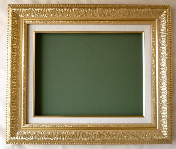 油絵用額縁 MJ108 F10 ゴールド-新品-即決-特価セール!_画像1