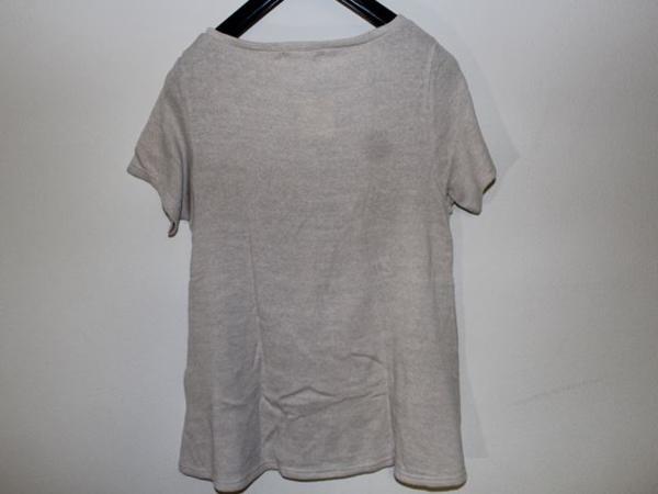 スワンジー SWANZY レディース半袖Tシャツ ベージュ 新品_画像3
