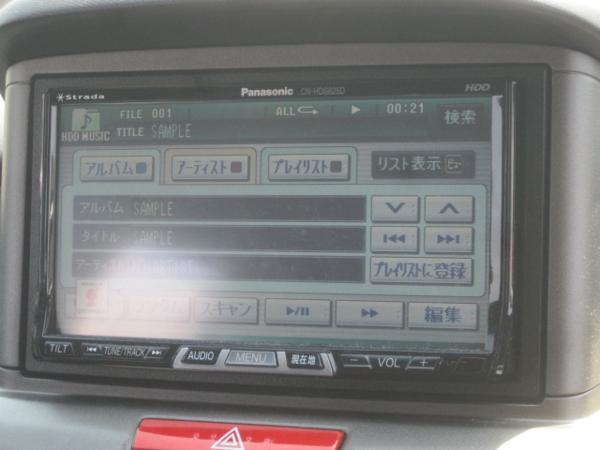 ストラーダ HDDナビ CN-HDS625TD 地デジチューナー【nab】TO_画像9