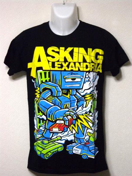 ★即決/未使用【Asking Alexandria】バンド Tシャツ S 半袖