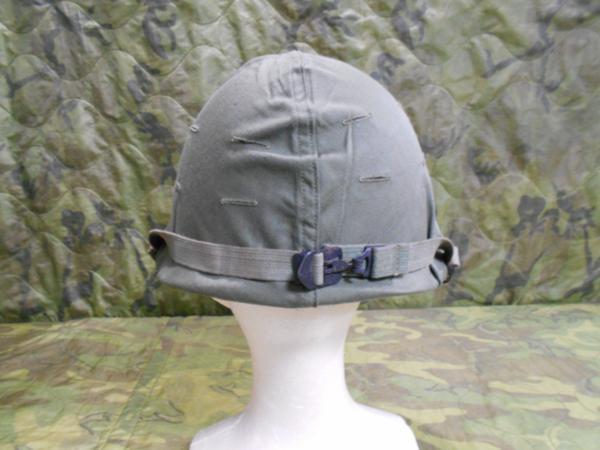 米軍US ARMY陸軍US MC海兵隊US NAVY海軍US AIR FORCE空軍 朝鮮戦争ベトナム戦争 ナム戦M-1ヘルメットOD迷彩 カモカバー付SET未使用希少9144_M-1ヘルメットODカバー付未使用9144