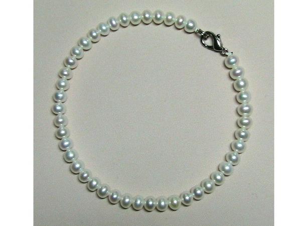 517wこんな美しいベビー真珠ホワイトパールネックブレスセット_画像3