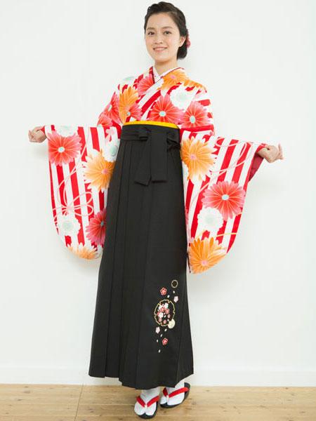 二尺袖着物袴フルセット 夢千代 新品 (株)安田屋_画像1