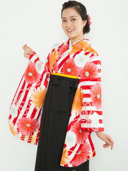 二尺袖着物袴フルセット 夢千代 新品 (株)安田屋_画像2