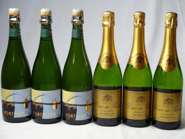 甘口・辛口スパークリング白ワイン3本2セット(スペ_s2000551_2.jpg
