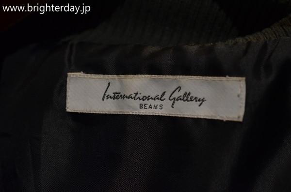 ■International Gallery BEAMS レザージャケット■ビームス_画像4