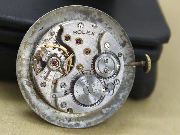 ロレックス スモールセコンド K18 手巻き SHOCK-RESISTING_画像3