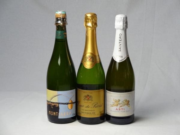 スパークリングワイン甘口豪華3本セット モンサラ セミ セコ_画像1