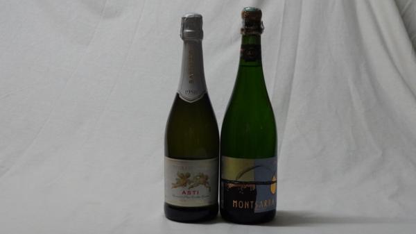世界の甘口スパークリング白ワイン2本セット(天使の_画像1