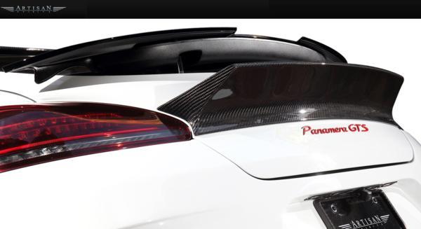 【M's】Porsche 970 パナメーラ 13y-/ARTISAN フロントバンパー_画像9