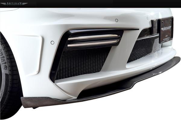 【M's】Porsche 970 パナメーラ 13y-/ARTISAN フロントバンパー_画像2