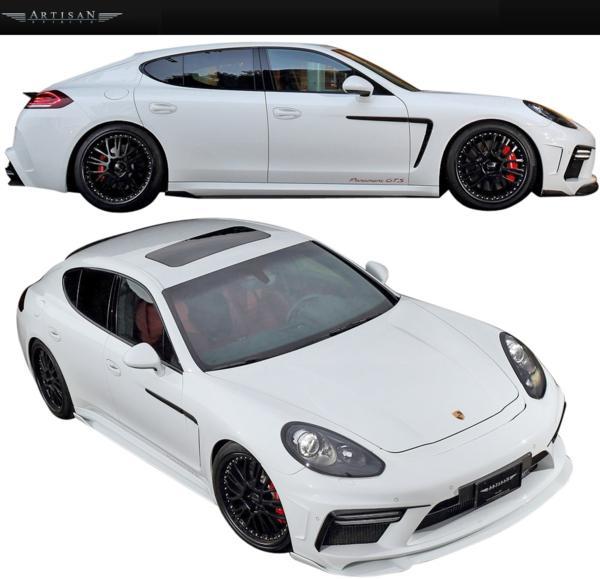 【M's】Porsche 970 パナメーラ 13y-/ARTISAN フロントバンパー_画像5