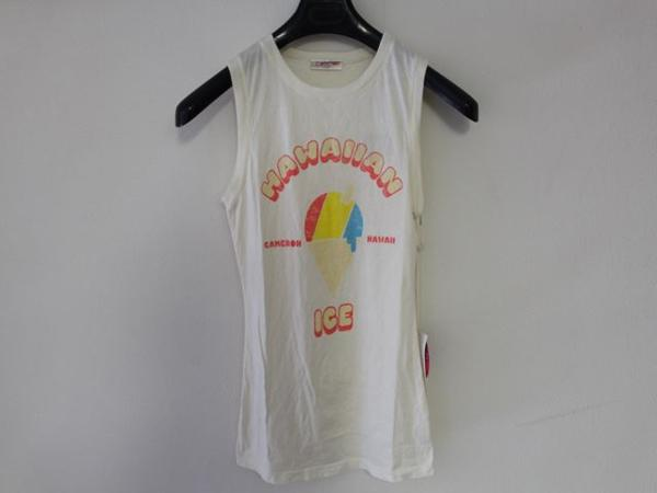 キャメロンハワイ Cameron Hawaii レディースノースリーブTシャツ Mサイズ NO16_画像2