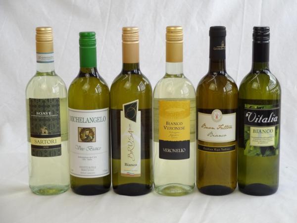 イタリア白ワイン6本セット(ヴェロネッロ ビアンコ・ミケラン_画像1