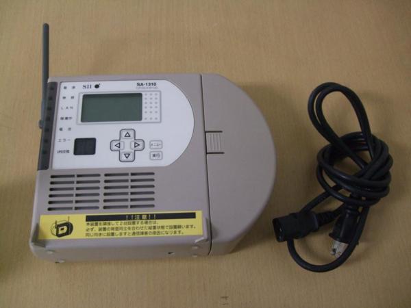 程度良/通電確認済み SII SA-1310 インテリジェントステーション_SII SA-1310 インテリジェントステーション