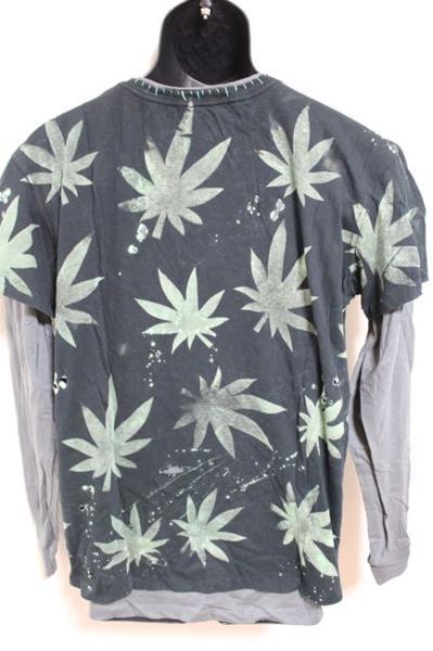 アイコニック ICONIC メンズダブルスリーブTシャツ Lサイズ 長袖 ブラック 新品_画像5