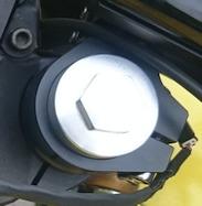 弁天部品 VTR250 フロントフォーク延長キット 55ミリ(カフェレーサー)(トマゼリ)(ロング化)(ロングフォーク)などに_画像6