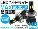 タント マイナー後 LA600 610S LEDヘッドライト ハイビーム HB3 新世代COB型 超長寿命 8000lm 超高輝度 四面発光 360°無死角 nzg