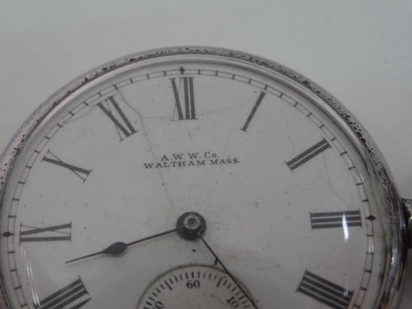 ウォルサム WALTHAM  懐中時計 メンズ アンティーク 訳アリ品_画像3
