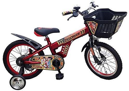 新品!動物戦隊ジュウオウジャー 16インチ 子供用自転車★補助輪付き!