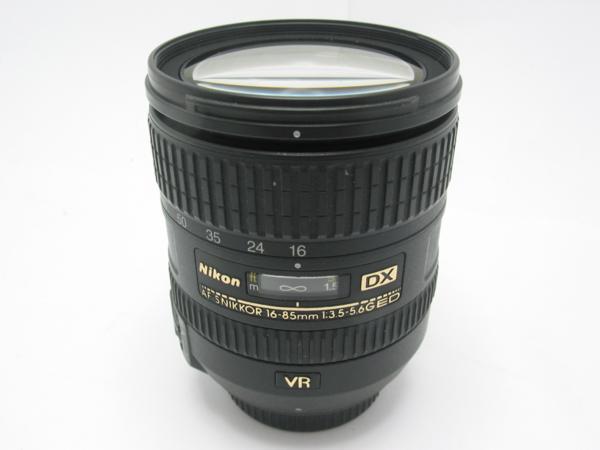 ★ハロ-カメラ★5695 Nikon DX AF-S(NIKKOR 16-85mm F3.5-5.6 G ED)VR 多少の難有り動作品