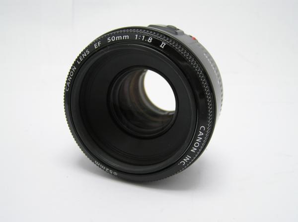 ★ハロ-カメラ★5826 Canon EF(50mm/1.8Ⅱ) レンズ .箱有り 保証書有り 動作品 現状 綺麗.美品..極上品_画像5