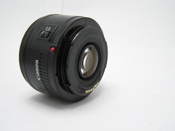 ★ハロ-カメラ★5826 Canon EF(50mm/1.8Ⅱ) レンズ .箱有り 保証書有り 動作品 現状 綺麗.美品..極上品_画像6