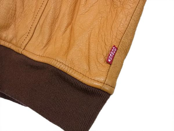 ◎ゴーウエスト レザージャケット 羊革 ジップジャケット ラムレザー gowest メンズ サイズ:2 リアルレザー タイトシルエット_画像4