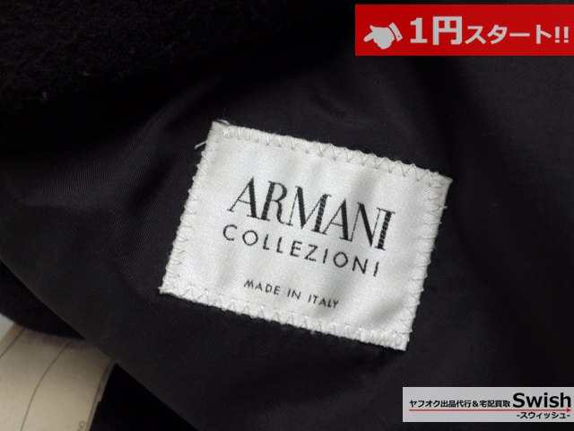 A784●ARMANI collezioni アルマーニ●ジャケット ニット 2点セット●_画像6