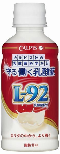 カルピス 守る働く乳酸菌 L-92 200ml×24本  【乳性飲料 機能性乳酸菌 アサヒ飲料 乳酸菌飲料】