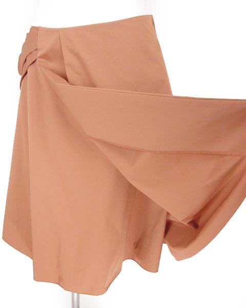 フォクシー ニューヨーク FOXEY テラコッタ スカート 42_画像6
