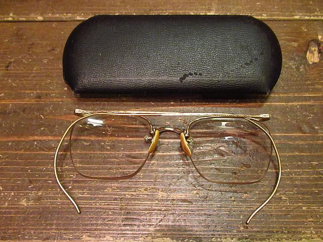 ビンテージ40's★ケース付きAmerican Optical NUMONT FUL-VUE眼鏡★アメリカンオプティカル 12KGF 30s 50s_画像2