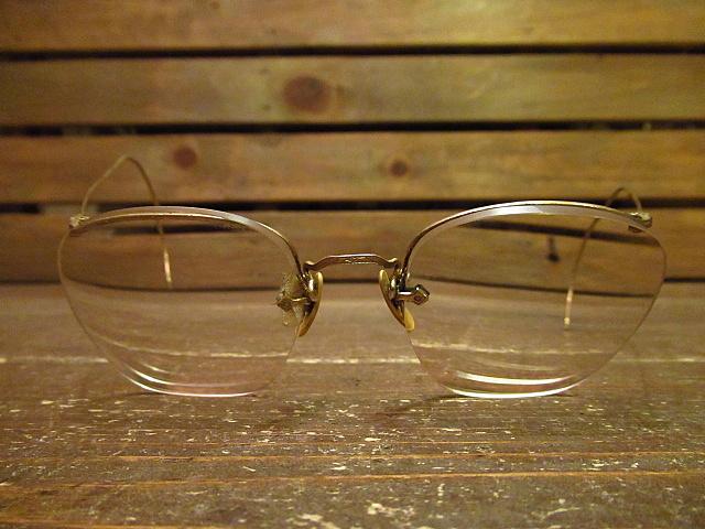 ビンテージ40's★ケース付きAmerican Optical NUMONT FUL-VUE眼鏡★アメリカンオプティカル 12KGF 30s 50s_画像3