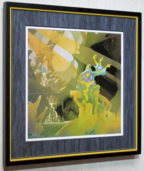 グリーンスレイド/名盤 レコジャケ・ポスター額装/Greenslade/ロジャーディーン/Framed Roger Dean/額入り プログレ/Framed Progre Rock