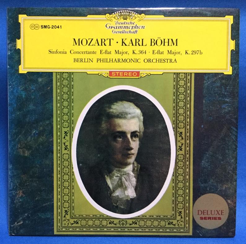 LP クラシック モーツァルト ヴァイオリン、ヴィオラと管弦楽のための協奏交響曲 ベーム指揮 日本盤_画像1