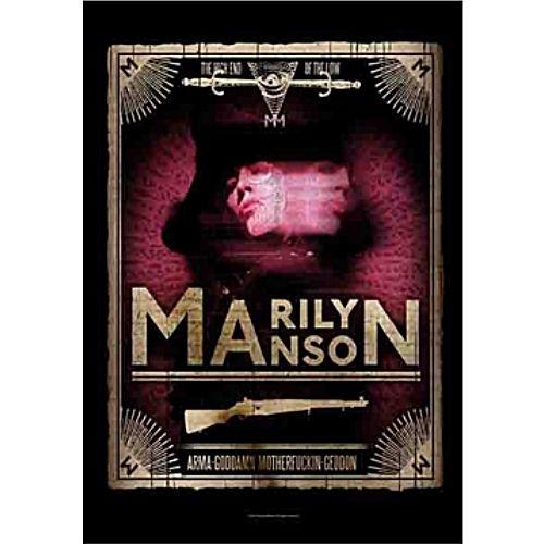海外限定 公式 MARILYN MANSON マリリンマンソン 特大布ポスター