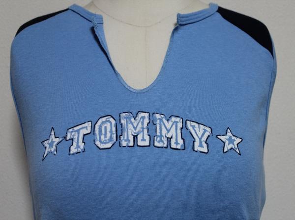 トミージーンズ TOMMY JEANS レディースノースリーブTシャツ Mサイズ 新品_画像2