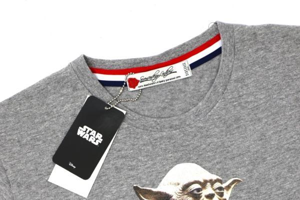 1円スタート!SEVESKIG セヴシグ×STAR WARS スターウォーズ 新品メンズ半袖Tシャツ L 3_画像3