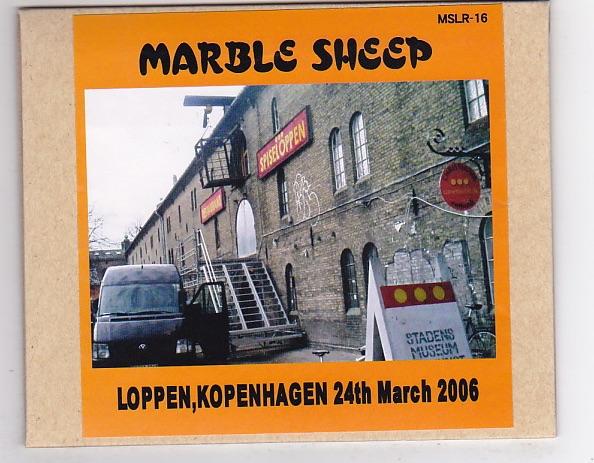 CD-R/MARBLE SHEEP / LOPPEN,KOPENHAGEN 24th March 2006_画像1