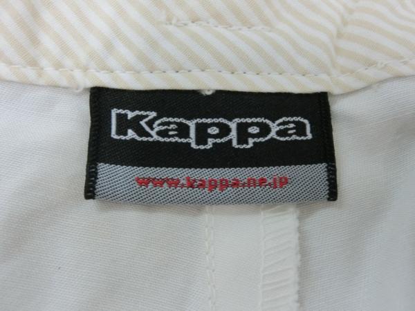 o183 Kappa ショートパンツ 9 綿100% オレンジ→白グラデーション_画像7