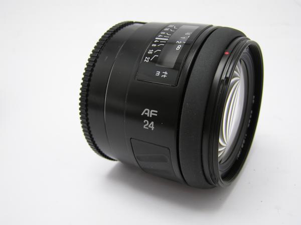 ★ハロ-カメラ★5833 MINOLTA AF (24mm/2.8) レンズ 動作品   現状_画像2