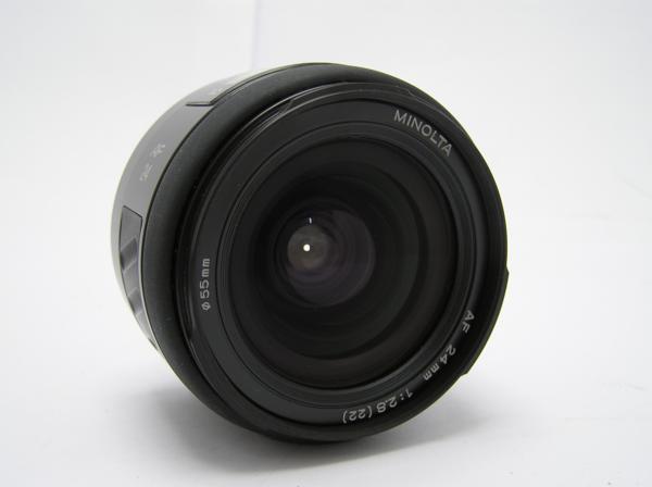 ★ハロ-カメラ★5833 MINOLTA AF (24mm/2.8) レンズ 動作品   現状_画像3